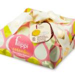 Colomba al cioccolato bianco e limone Filippi